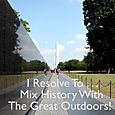 Day 129 - I Resolve To™. . . Explore Walk, Enjoy The Fine Weather & Revel In History!