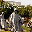 Day 151 - I Resolve To® . . . Honor The Men And Women Who Died Serving Our Country! (2010)