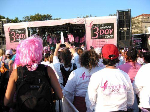 Breast Cancer 3-Day - October 7-10, 2010 - Shot #30