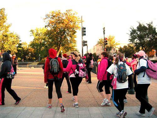Breast Cancer 3-Day - October 10-12, 2012 - Shot #2