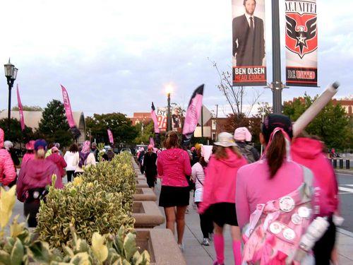 Breast Cancer 3-Day - October 10-12, 2012 - Shot #8