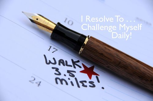 Day 1 - I Resolve To® . . .Take The 2nd Challenge: 365 Resolutions For Health & Happiness! (2010)