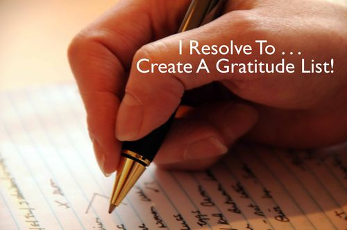 Day 103 - I Resolve To® . . . Count My Blessings! (2010)