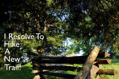 Day 10 - I Resolve To™ . . . Make Time For Exercise & Adventure!